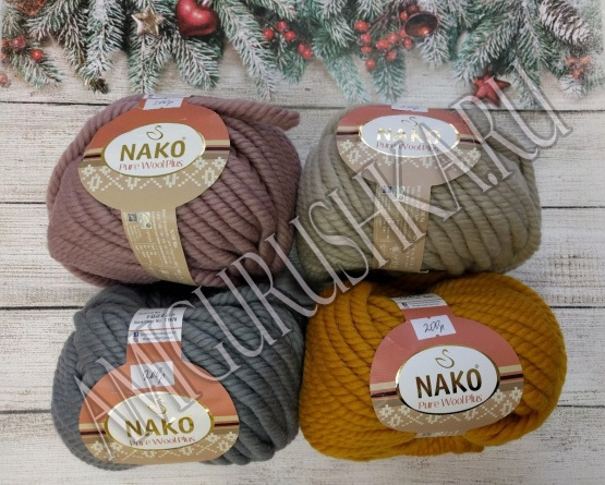 NAKO Pure Wool Plus