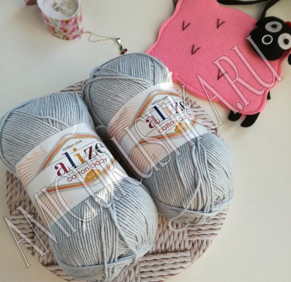 Alize Cotton Baby Soft (Ализе Коттон Бэби Софт)