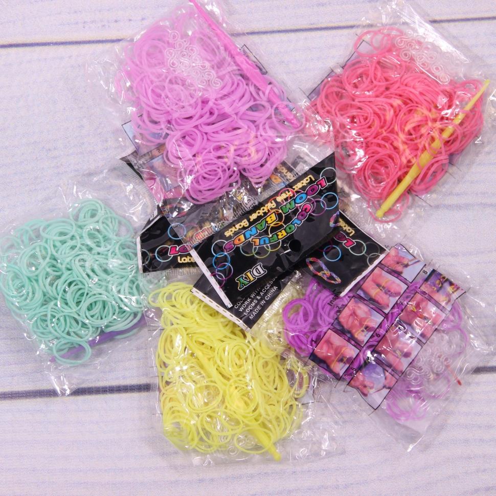 Резинки для вязания браслетов